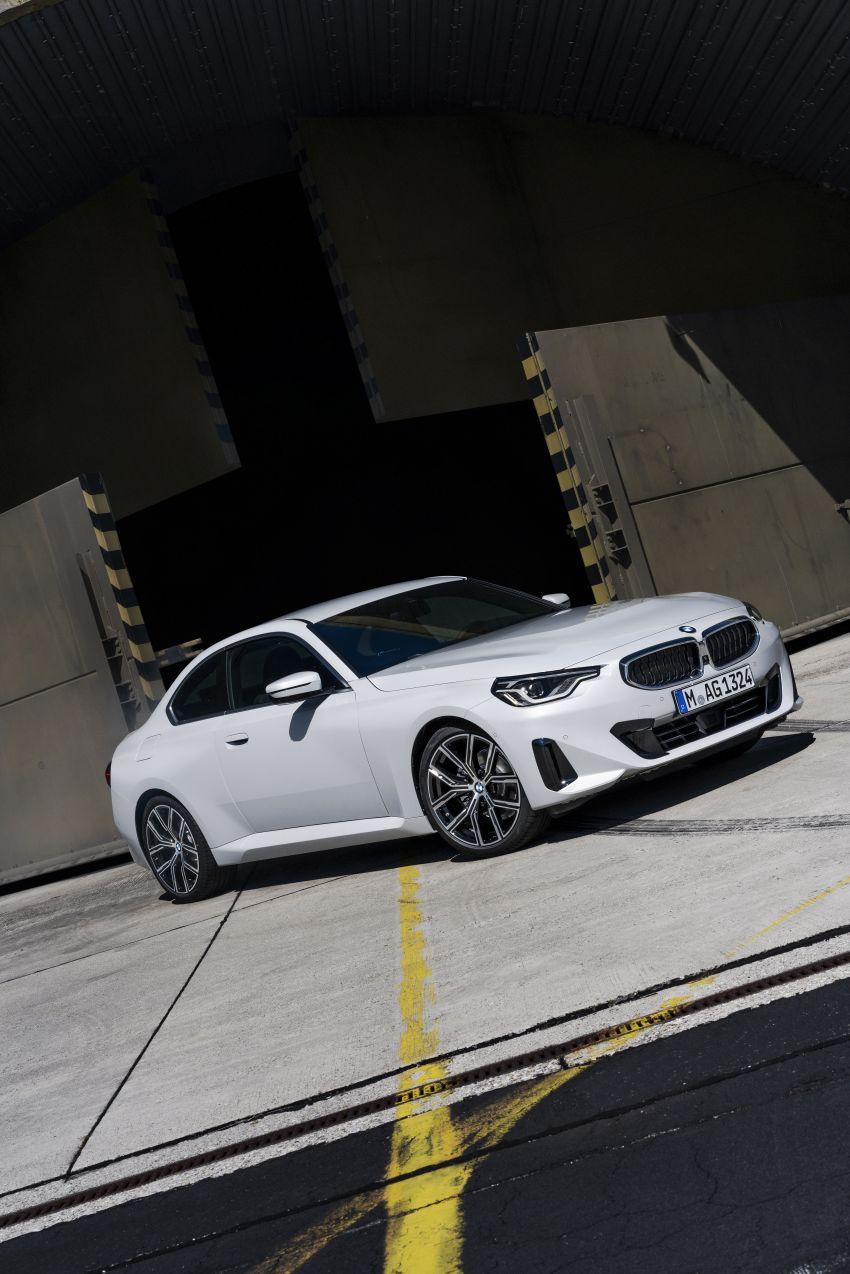 BMW 2 Series Coupe G42 diperkenal – tiga pilihan enjin, M240i xDrive mampu hasilkan 374 hp, 500 Nm Image #1316920