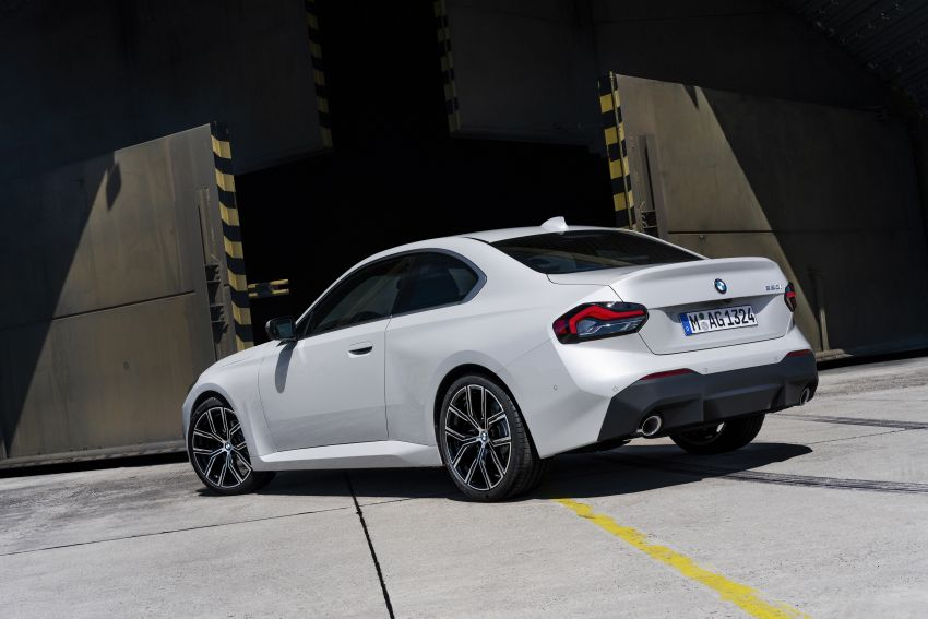 G42 BMW 2 Series Coupé debuts – 2.0 litre petrol and diesel engines; 3.0L M240i xDrive with 374 hp/500 Nm Image #1316503