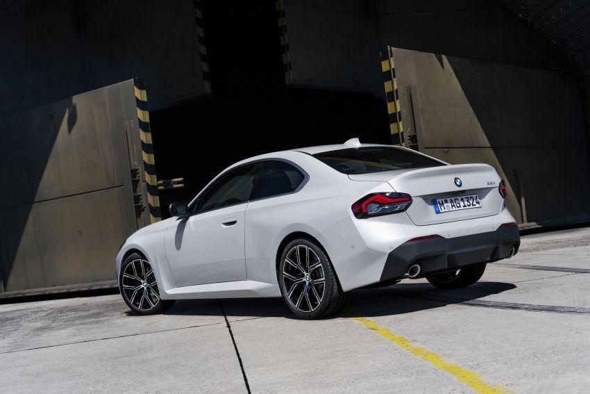 BMW 2 Series Coupe G42 diperkenal – tiga pilihan enjin, M240i xDrive mampu hasilkan 374 hp, 500 Nm Image #1316921