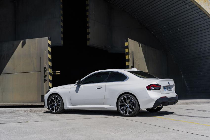 BMW 2 Series Coupe G42 diperkenal – tiga pilihan enjin, M240i xDrive mampu hasilkan 374 hp, 500 Nm Image #1316922