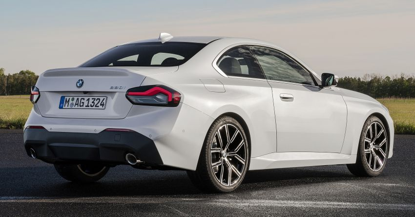 G42 BMW 2 Series Coupé debuts – 2.0 litre petrol and diesel engines; 3.0L M240i xDrive with 374 hp/500 Nm Image #1316508