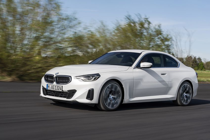 G42 BMW 2 Series Coupé debuts – 2.0 litre petrol and diesel engines; 3.0L M240i xDrive with 374 hp/500 Nm Image #1316509