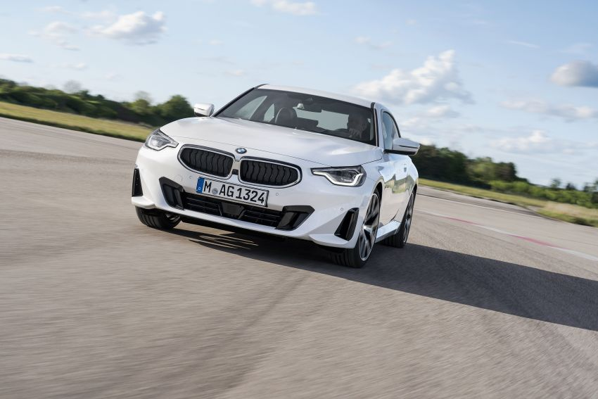 G42 BMW 2 Series Coupé debuts – 2.0 litre petrol and diesel engines; 3.0L M240i xDrive with 374 hp/500 Nm Image #1316512