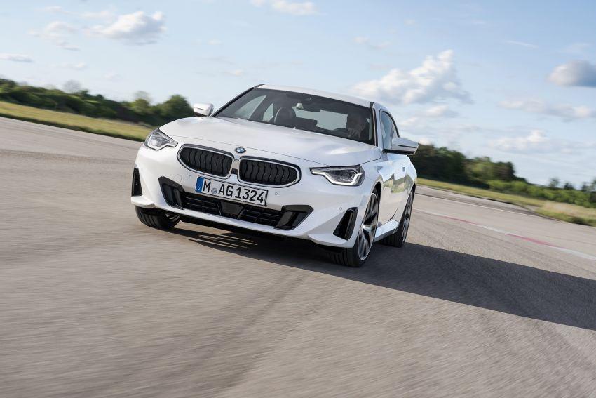 BMW 2 Series Coupe G42 diperkenal – tiga pilihan enjin, M240i xDrive mampu hasilkan 374 hp, 500 Nm Image #1316925