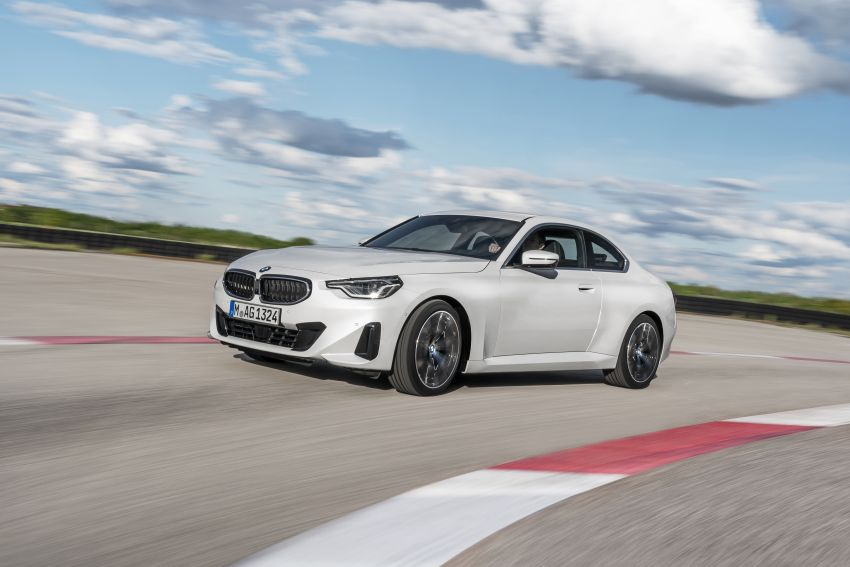 G42 BMW 2 Series Coupé debuts – 2.0 litre petrol and diesel engines; 3.0L M240i xDrive with 374 hp/500 Nm Image #1316514