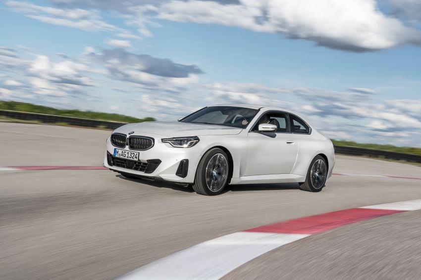 BMW 2 Series Coupe G42 diperkenal – tiga pilihan enjin, M240i xDrive mampu hasilkan 374 hp, 500 Nm Image #1316926