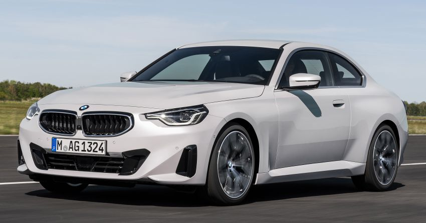 G42 BMW 2 Series Coupé debuts – 2.0 litre petrol and diesel engines; 3.0L M240i xDrive with 374 hp/500 Nm Image #1316516