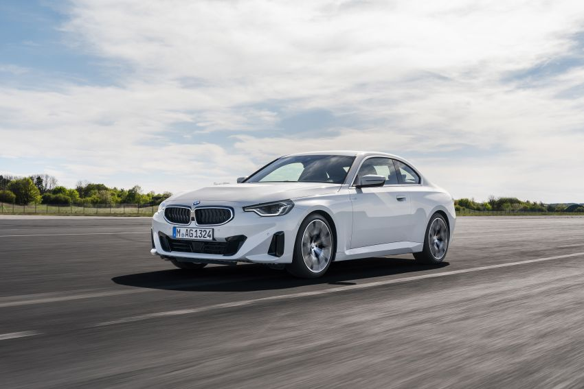 G42 BMW 2 Series Coupé debuts – 2.0 litre petrol and diesel engines; 3.0L M240i xDrive with 374 hp/500 Nm Image #1316518