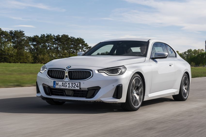 G42 BMW 2 Series Coupé debuts – 2.0 litre petrol and diesel engines; 3.0L M240i xDrive with 374 hp/500 Nm Image #1316519