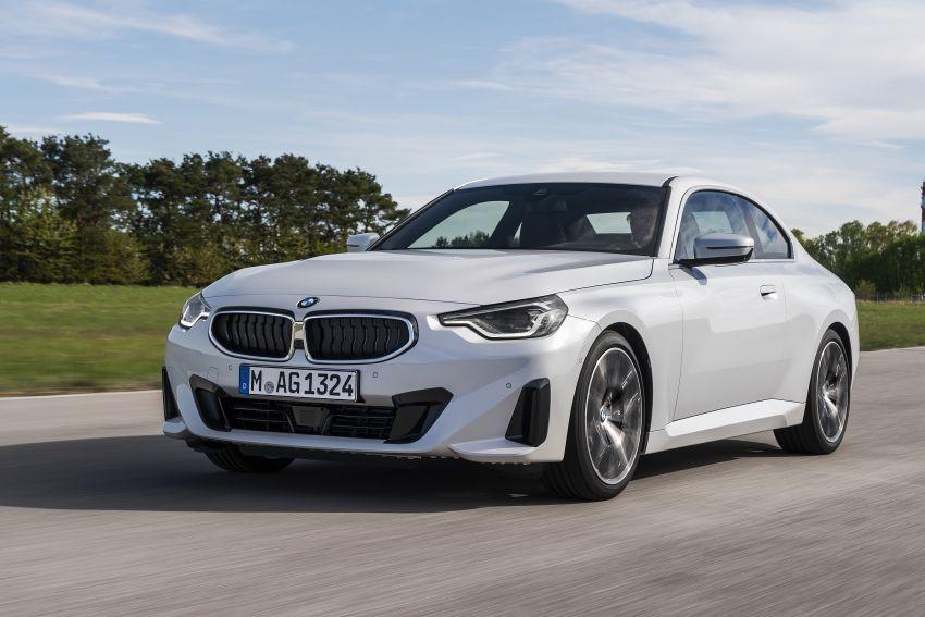 BMW 2 Series Coupe G42 diperkenal – tiga pilihan enjin, M240i xDrive mampu hasilkan 374 hp, 500 Nm Image #1316929