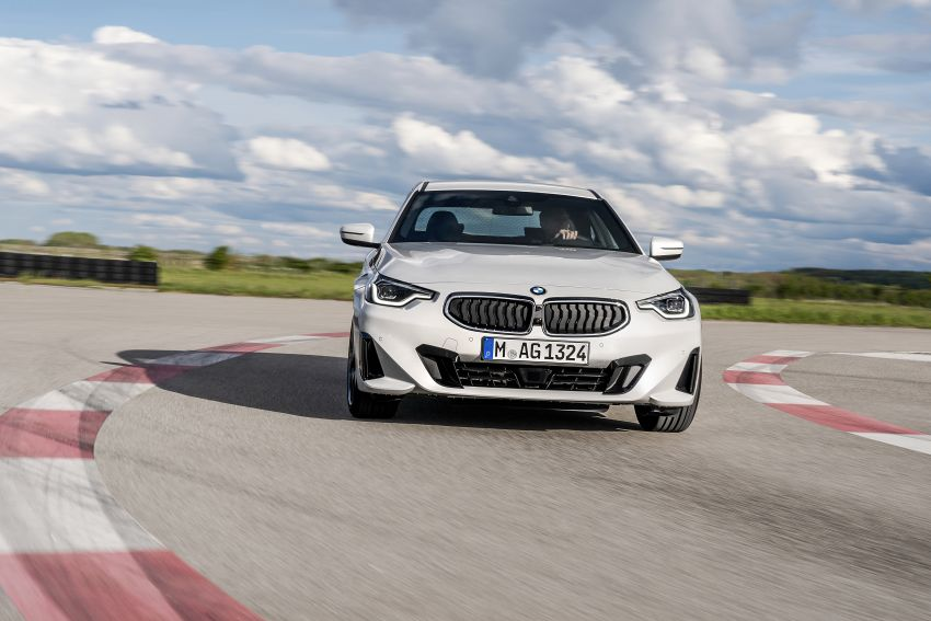 G42 BMW 2 Series Coupé debuts – 2.0 litre petrol and diesel engines; 3.0L M240i xDrive with 374 hp/500 Nm Image #1316521