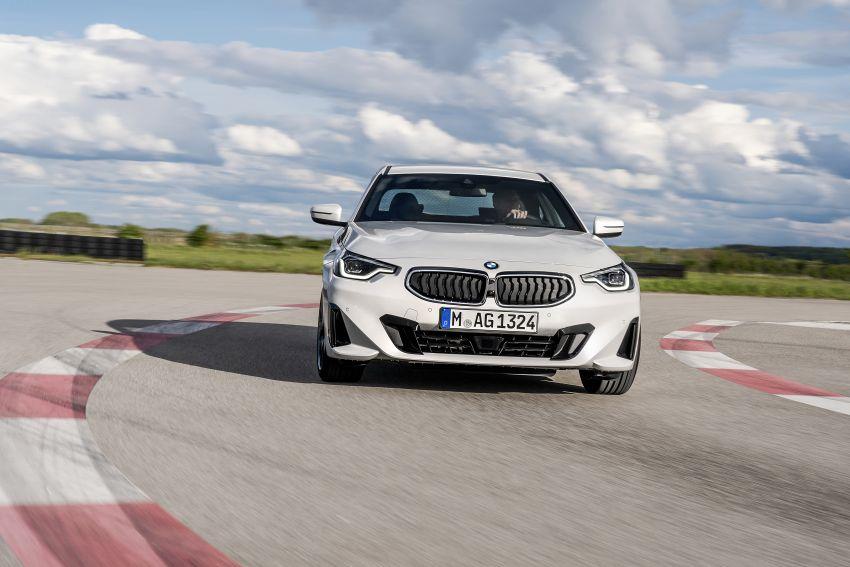 BMW 2 Series Coupe G42 diperkenal – tiga pilihan enjin, M240i xDrive mampu hasilkan 374 hp, 500 Nm Image #1316930