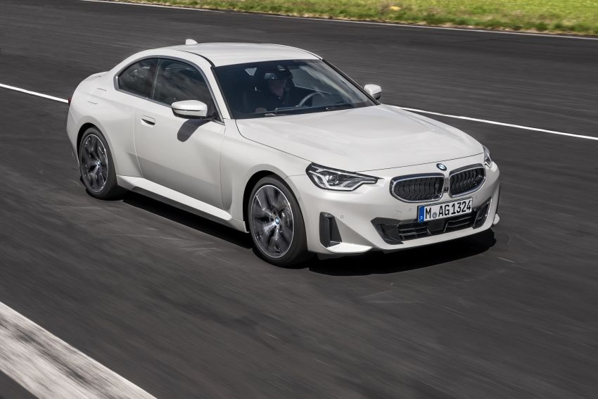 G42 BMW 2 Series Coupé debuts – 2.0 litre petrol and diesel engines; 3.0L M240i xDrive with 374 hp/500 Nm Image #1316523