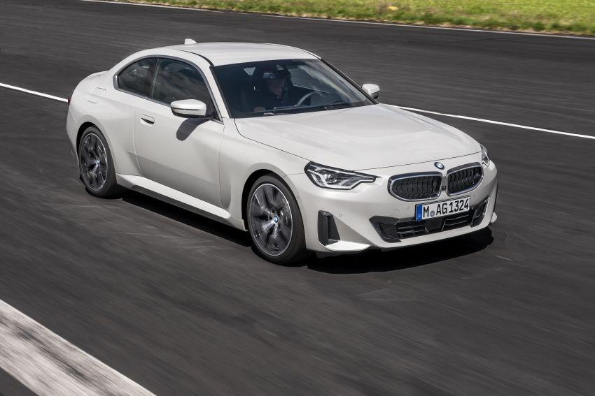 BMW 2 Series Coupe G42 diperkenal – tiga pilihan enjin, M240i xDrive mampu hasilkan 374 hp, 500 Nm Image #1316931