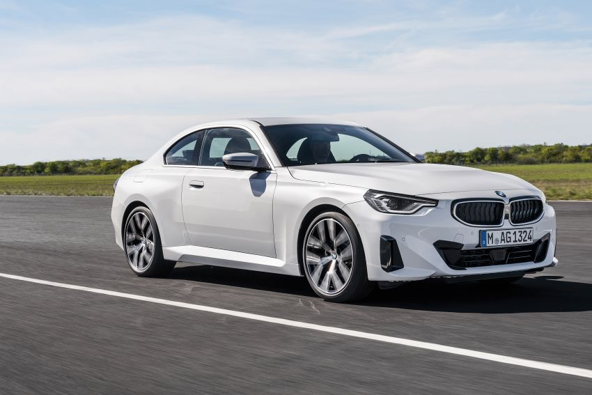 G42 BMW 2 Series Coupé debuts – 2.0 litre petrol and diesel engines; 3.0L M240i xDrive with 374 hp/500 Nm Image #1316524