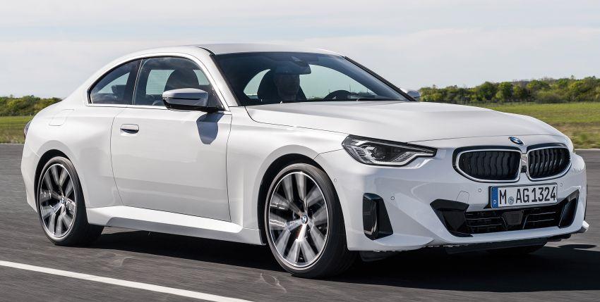 BMW 2 Series Coupe G42 diperkenal – tiga pilihan enjin, M240i xDrive mampu hasilkan 374 hp, 500 Nm Image #1316932