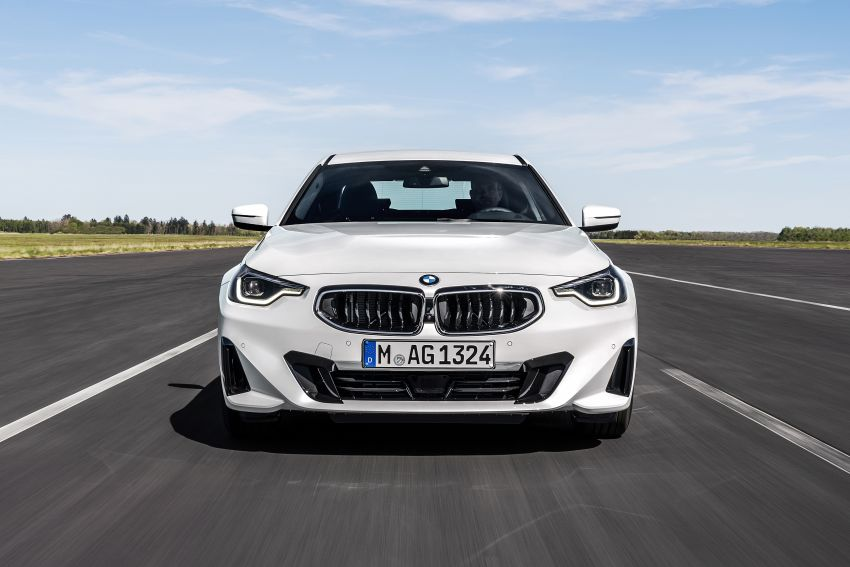 G42 BMW 2 Series Coupé debuts – 2.0 litre petrol and diesel engines; 3.0L M240i xDrive with 374 hp/500 Nm Image #1316525