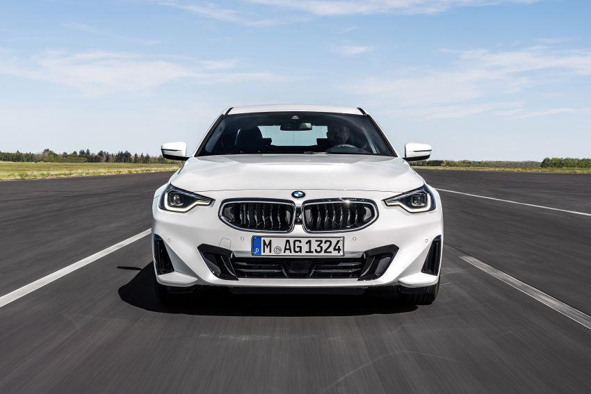 BMW 2 Series Coupe G42 diperkenal – tiga pilihan enjin, M240i xDrive mampu hasilkan 374 hp, 500 Nm Image #1316933