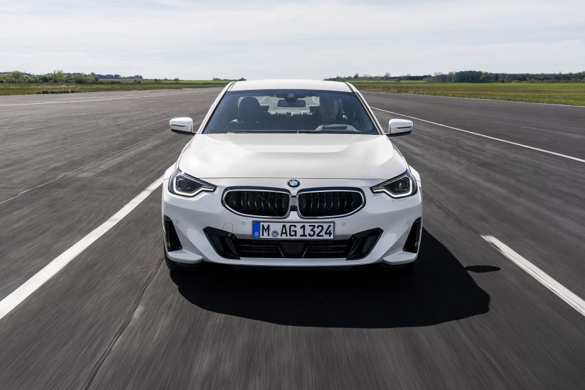 G42 BMW 2 Series Coupé debuts – 2.0 litre petrol and diesel engines; 3.0L M240i xDrive with 374 hp/500 Nm Image #1316526