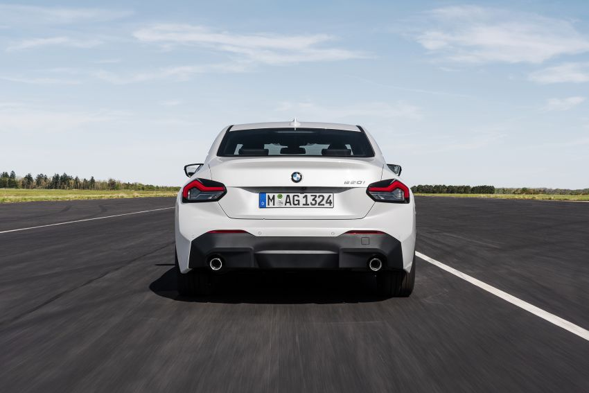 G42 BMW 2 Series Coupé debuts – 2.0 litre petrol and diesel engines; 3.0L M240i xDrive with 374 hp/500 Nm Image #1316527
