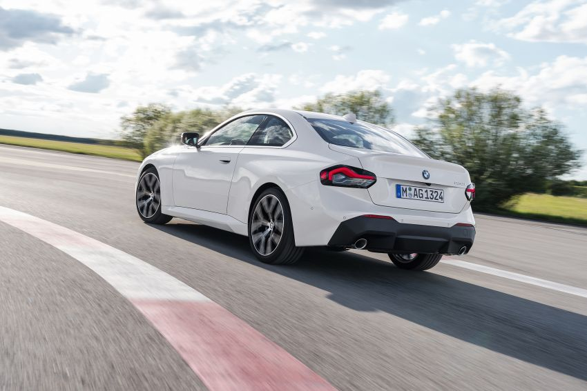 G42 BMW 2 Series Coupé debuts – 2.0 litre petrol and diesel engines; 3.0L M240i xDrive with 374 hp/500 Nm Image #1316529