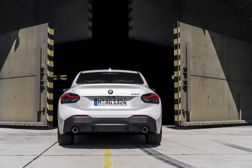 BMW 2 Series Coupe G42 diperkenal – tiga pilihan enjin, M240i xDrive mampu hasilkan 374 hp, 500 Nm Image #1316938