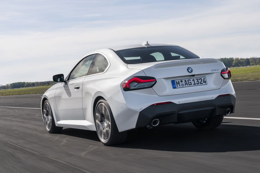 G42 BMW 2 Series Coupé debuts – 2.0 litre petrol and diesel engines; 3.0L M240i xDrive with 374 hp/500 Nm Image #1316531