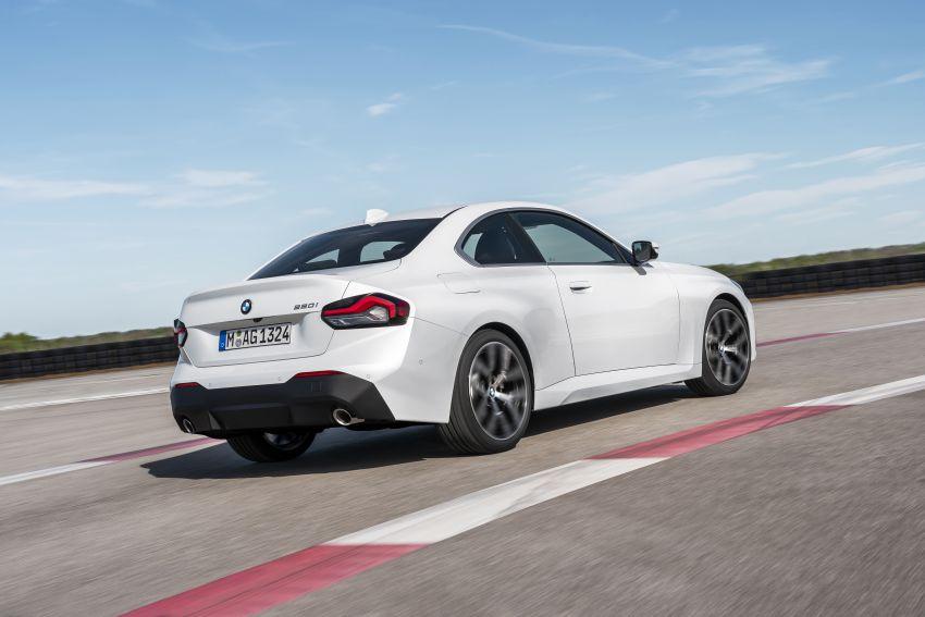 BMW 2 Series Coupe G42 diperkenal – tiga pilihan enjin, M240i xDrive mampu hasilkan 374 hp, 500 Nm Image #1316940