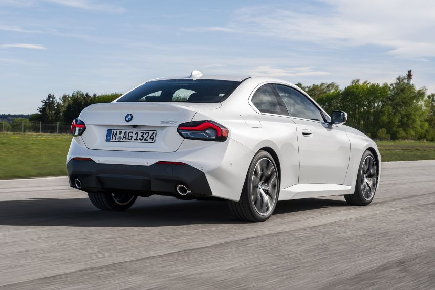 G42 BMW 2 Series Coupé debuts – 2.0 litre petrol and diesel engines; 3.0L M240i xDrive with 374 hp/500 Nm Image #1316534