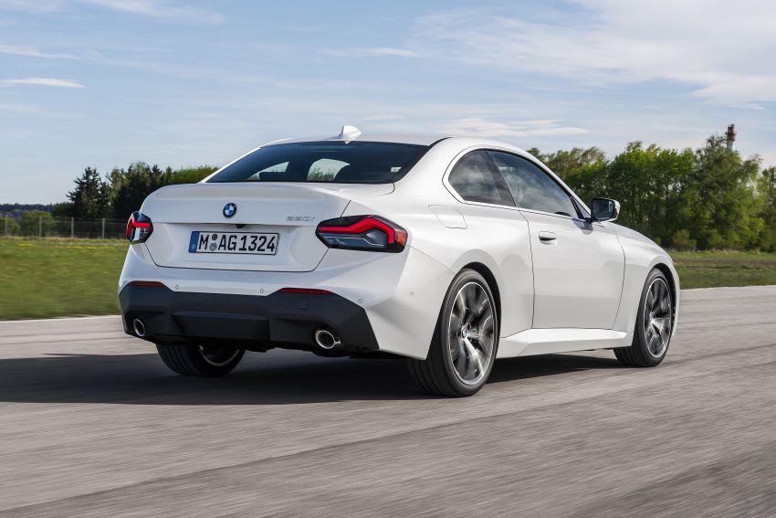 BMW 2 Series Coupe G42 diperkenal – tiga pilihan enjin, M240i xDrive mampu hasilkan 374 hp, 500 Nm Image #1316941