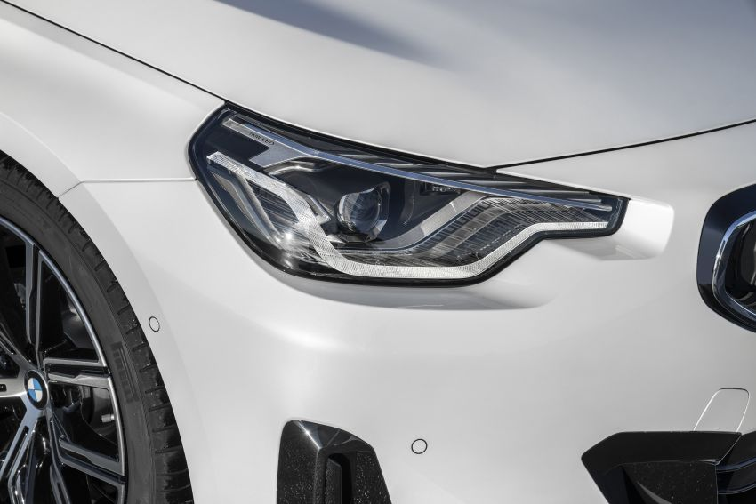 G42 BMW 2 Series Coupé debuts – 2.0 litre petrol and diesel engines; 3.0L M240i xDrive with 374 hp/500 Nm Image #1316535