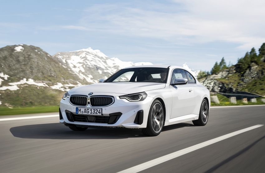 G42 BMW 2 Series Coupé debuts – 2.0 litre petrol and diesel engines; 3.0L M240i xDrive with 374 hp/500 Nm Image #1316536