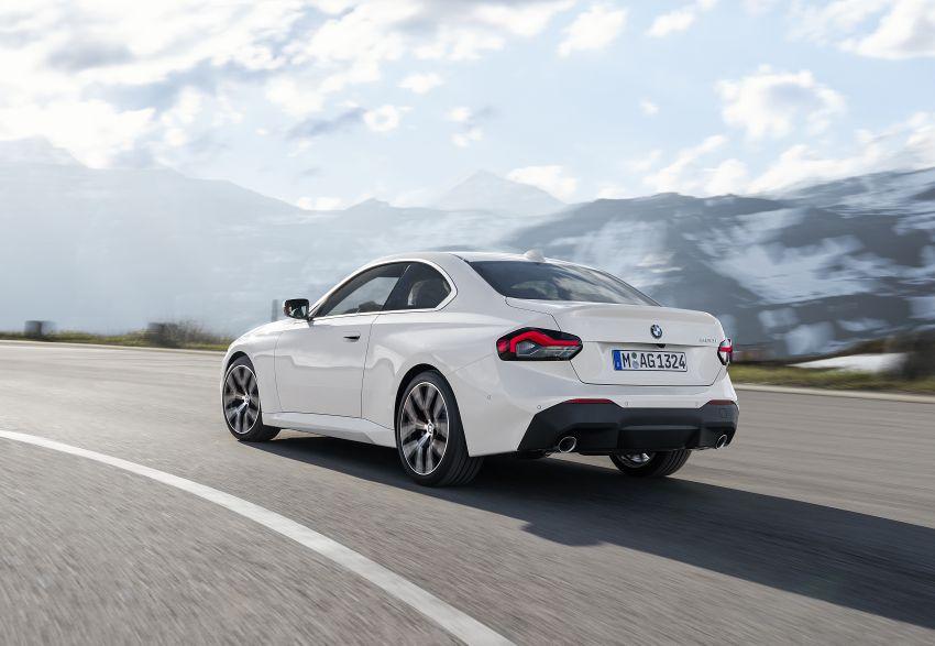 BMW 2 Series Coupe G42 diperkenal – tiga pilihan enjin, M240i xDrive mampu hasilkan 374 hp, 500 Nm Image #1316945