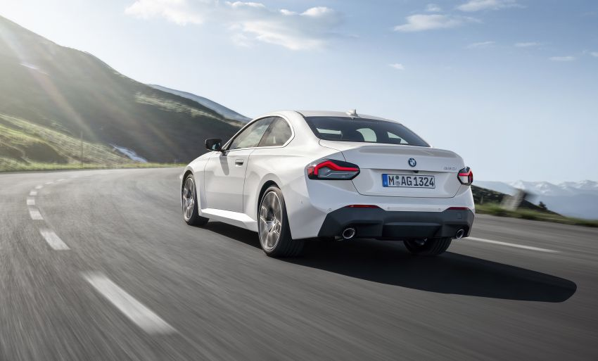 G42 BMW 2 Series Coupé debuts – 2.0 litre petrol and diesel engines; 3.0L M240i xDrive with 374 hp/500 Nm Image #1316538