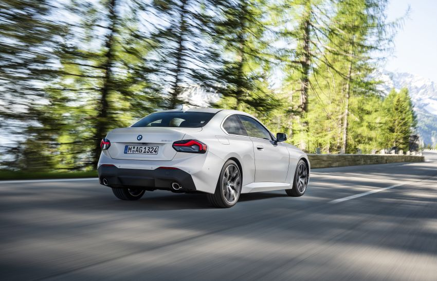 G42 BMW 2 Series Coupé debuts – 2.0 litre petrol and diesel engines; 3.0L M240i xDrive with 374 hp/500 Nm Image #1316539