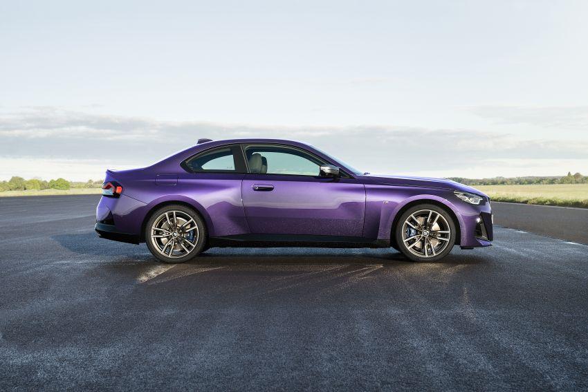 BMW 2 Series Coupe G42 diperkenal – tiga pilihan enjin, M240i xDrive mampu hasilkan 374 hp, 500 Nm Image #1316950