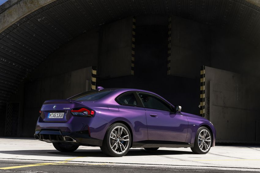 G42 BMW 2 Series Coupé debuts – 2.0 litre petrol and diesel engines; 3.0L M240i xDrive with 374 hp/500 Nm Image #1316366