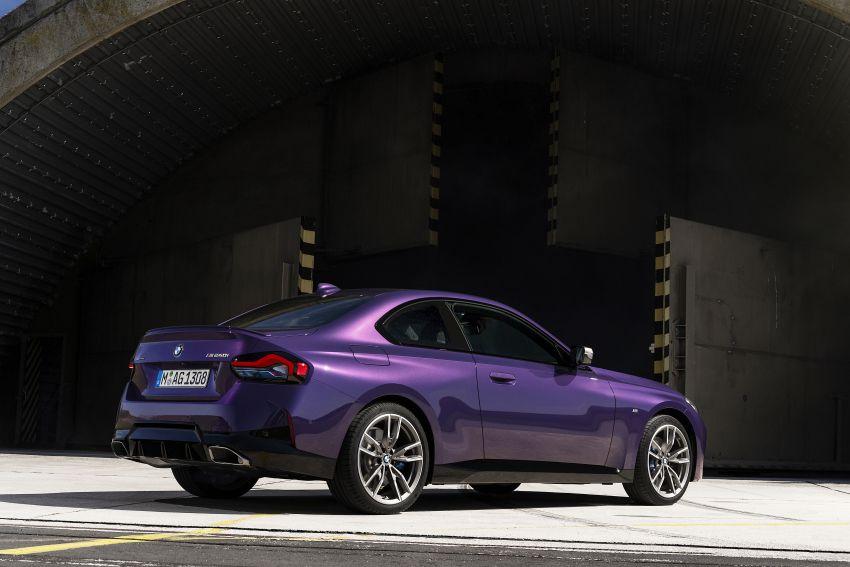 BMW 2 Series Coupe G42 diperkenal – tiga pilihan enjin, M240i xDrive mampu hasilkan 374 hp, 500 Nm Image #1316951