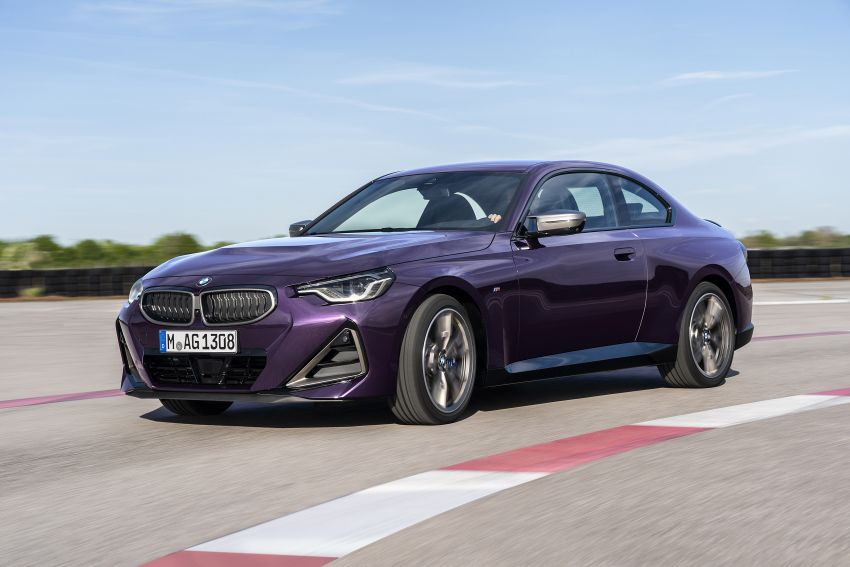 G42 BMW 2 Series Coupé debuts – 2.0 litre petrol and diesel engines; 3.0L M240i xDrive with 374 hp/500 Nm Image #1316368