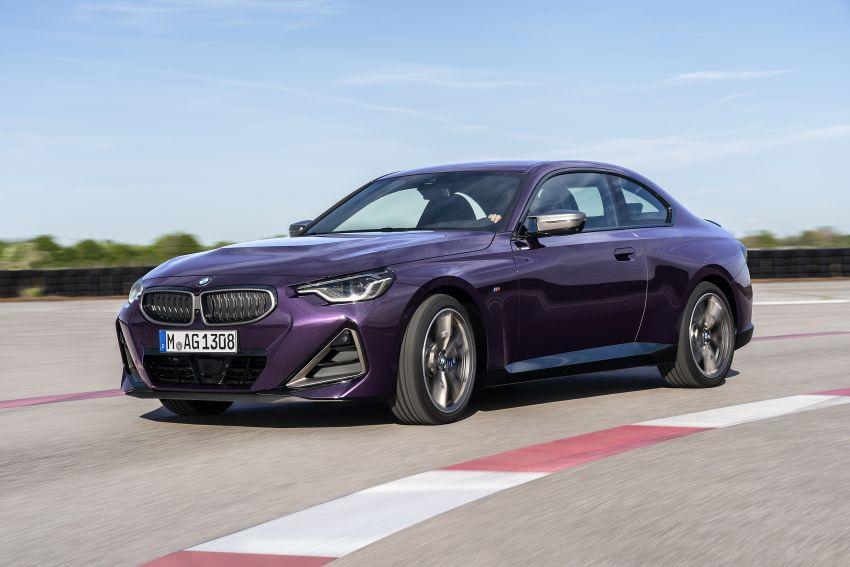 BMW 2 Series Coupe G42 diperkenal – tiga pilihan enjin, M240i xDrive mampu hasilkan 374 hp, 500 Nm Image #1316954