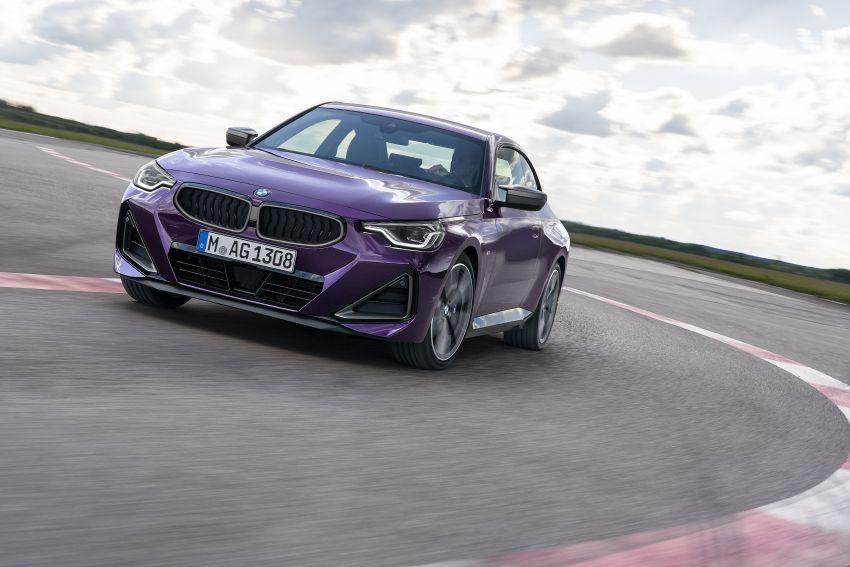 BMW 2 Series Coupe G42 diperkenal – tiga pilihan enjin, M240i xDrive mampu hasilkan 374 hp, 500 Nm Image #1316955