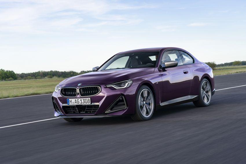 BMW 2 Series Coupe G42 diperkenal – tiga pilihan enjin, M240i xDrive mampu hasilkan 374 hp, 500 Nm Image #1316956
