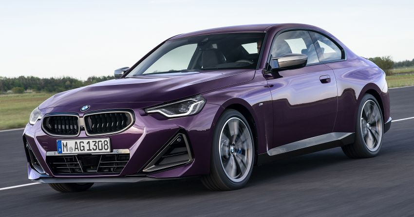 G42 BMW 2 Series Coupé debuts – 2.0 litre petrol and diesel engines; 3.0L M240i xDrive with 374 hp/500 Nm Image #1316370
