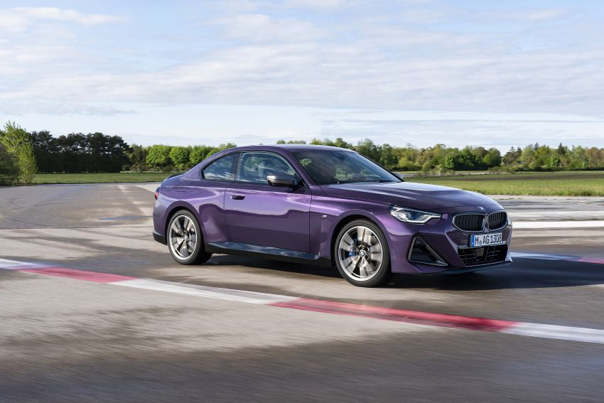 G42 BMW 2 Series Coupé debuts – 2.0 litre petrol and diesel engines; 3.0L M240i xDrive with 374 hp/500 Nm Image #1316371