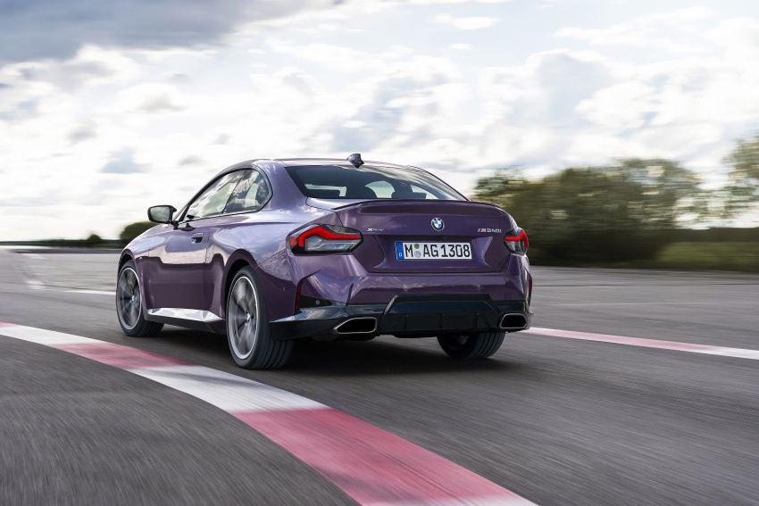 BMW 2 Series Coupe G42 diperkenal – tiga pilihan enjin, M240i xDrive mampu hasilkan 374 hp, 500 Nm Image #1316959