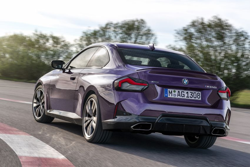 G42 BMW 2 Series Coupé debuts – 2.0 litre petrol and diesel engines; 3.0L M240i xDrive with 374 hp/500 Nm Image #1316373