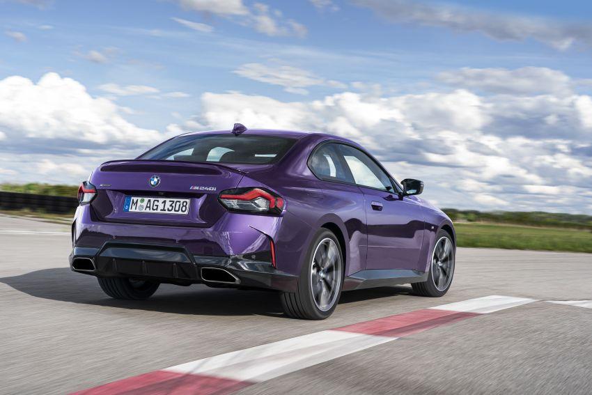 BMW 2 Series Coupe G42 diperkenal – tiga pilihan enjin, M240i xDrive mampu hasilkan 374 hp, 500 Nm Image #1316962