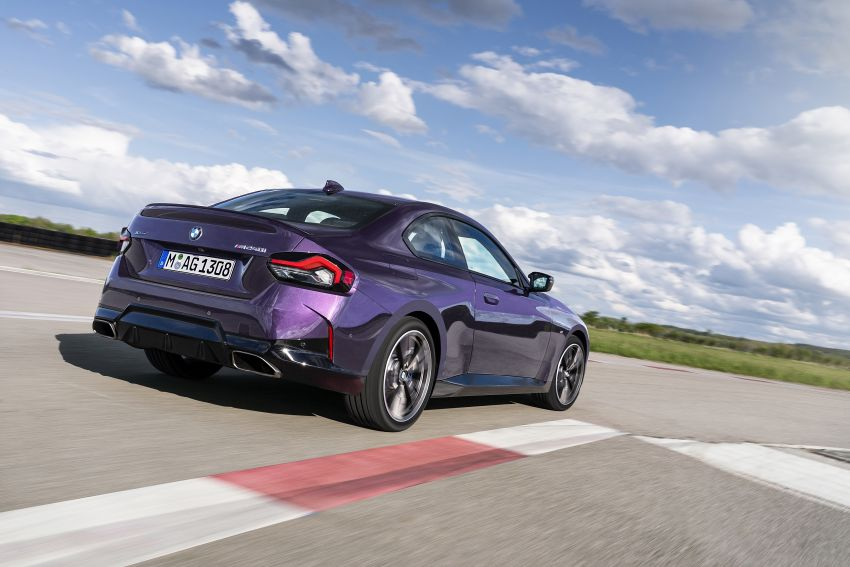 G42 BMW 2 Series Coupé debuts – 2.0 litre petrol and diesel engines; 3.0L M240i xDrive with 374 hp/500 Nm Image #1316375