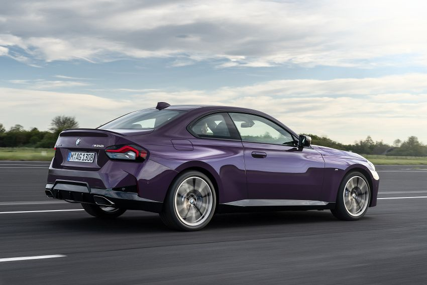 G42 BMW 2 Series Coupé debuts – 2.0 litre petrol and diesel engines; 3.0L M240i xDrive with 374 hp/500 Nm Image #1316376