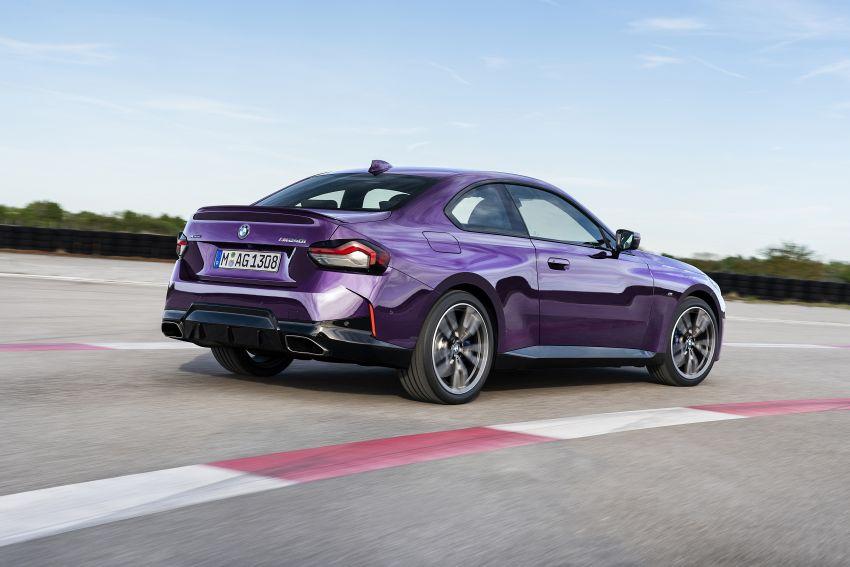 BMW 2 Series Coupe G42 diperkenal – tiga pilihan enjin, M240i xDrive mampu hasilkan 374 hp, 500 Nm Image #1316965